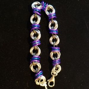 Chainmaille Status Bracelet